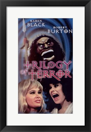 Framed Trilogy of Terror Print