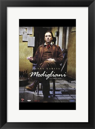 Framed Modigliani Print