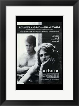 Framed Woodsman (movie poster) Print