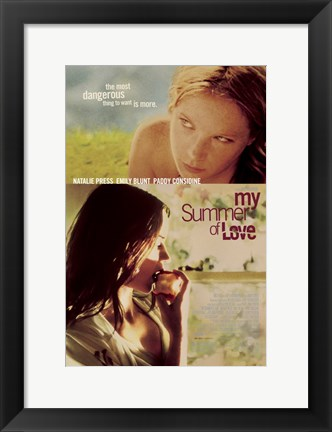 Framed My Summer of Love Movie Print