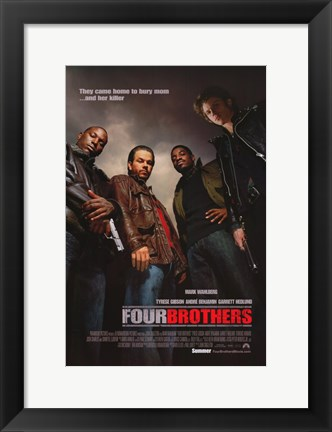 Framed Four Brothers Print