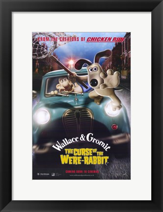 Framed Wallace  Gromit: the Curse of the Were-R Print