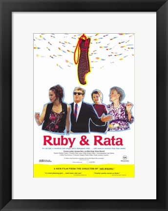 Framed Ruby and Rata Print