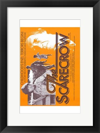 Framed Scarecrow Print