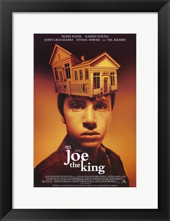 Framed Joe the King Print