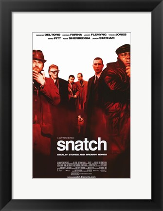 Framed Snatch Print