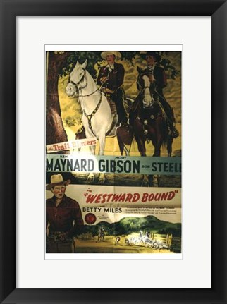 Framed Westward Bound Print