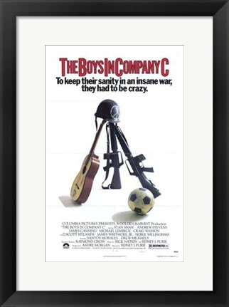 Framed Boys in Company C Print