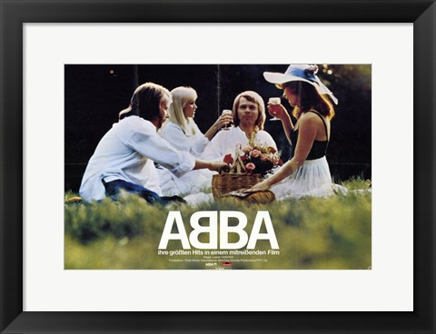 Framed Abba: the Movie Print
