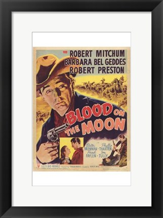 Framed Blood on the Moon Print