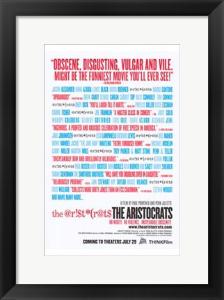 Framed Aristocrats Print
