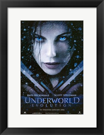 Framed Underworld: Evolution, c.2006 - style A Print