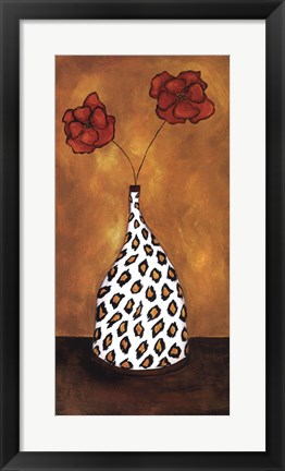 Framed Safari Floral II Print