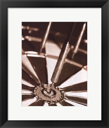 Framed Darts Print