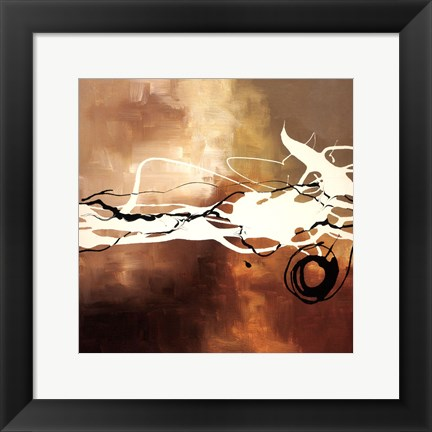 Framed Copper Melody II Print