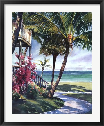 Framed Peaceful Retreat Print