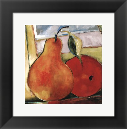 Framed Great Pear Print