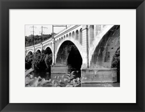 Framed Bridge I Print