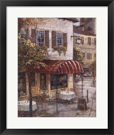 Framed Coffee House Ambience Print