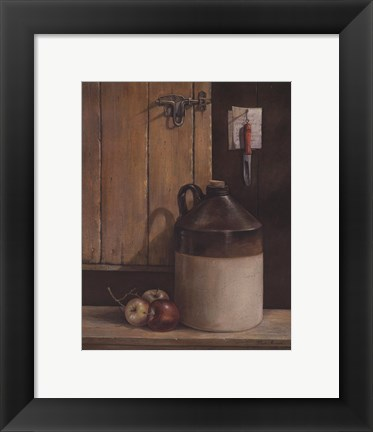 Framed Apple Cider Print