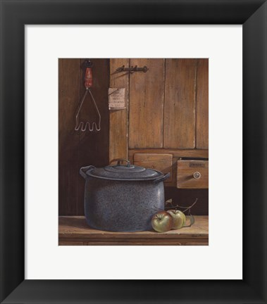 Framed Apple Dumplings Print