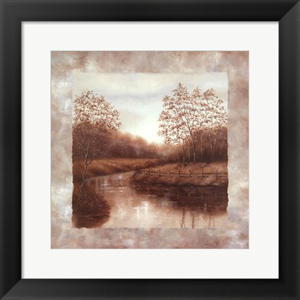 Framed Serenity Collection I Print