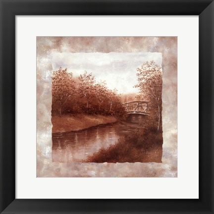 Framed Serenity Collection II Print
