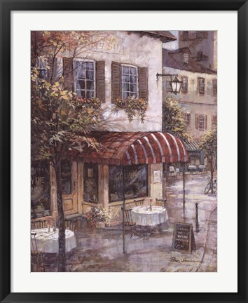 Framed Coffee House Ambiance Print