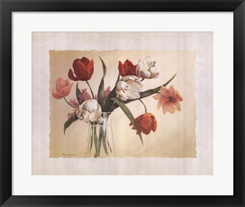 Framed Cynde's Tulips Print