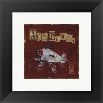Framed Airplane Print