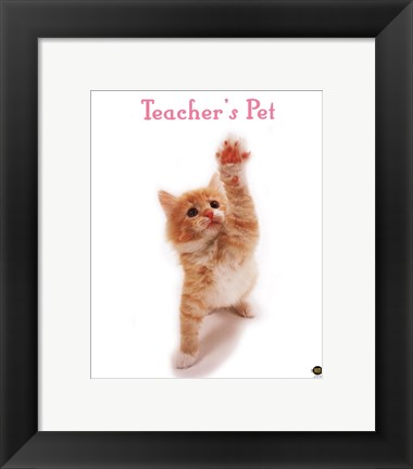 Framed Teacher'S Pet Print