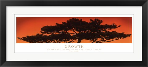Framed Inspirational - Growth Print