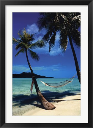 Framed Peaceful Beaches Print