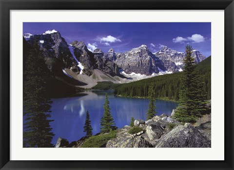 Framed Moraine Lake, Banff Print