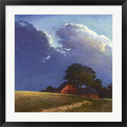 Framed Summer Storm Print