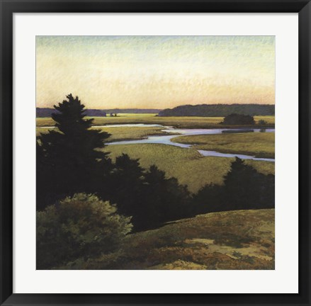 Framed Evening Tide Print