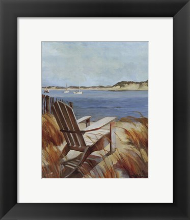 Framed Sea Breeze Print