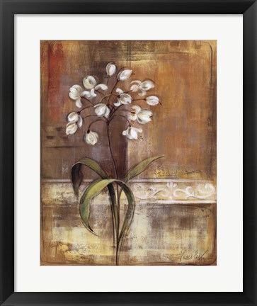 Framed Gentle Blossoms I Print