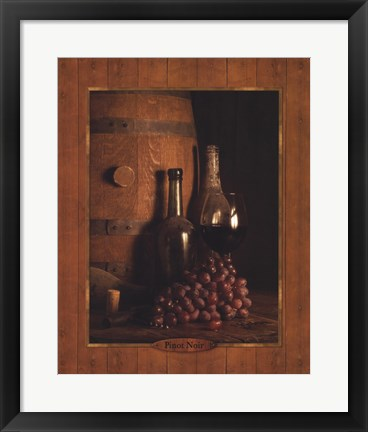 Framed Vineyard Tour I Print