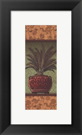 Framed Tropical Plants II - mini Print