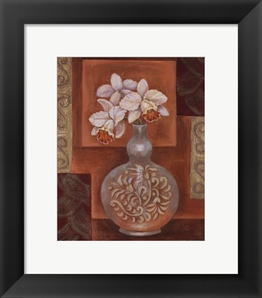 Framed Orchid II - petite Print