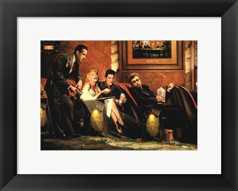 Framed Classic Interlude Print