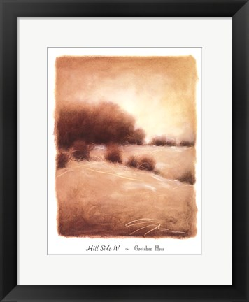 Framed Hill Side IV Print