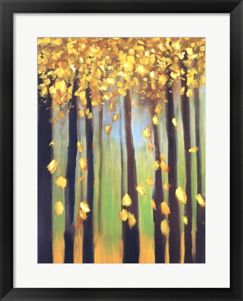 Framed Colors of Fall I Print