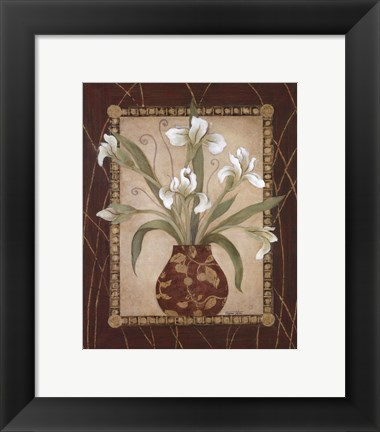 Framed Iris Revival Print