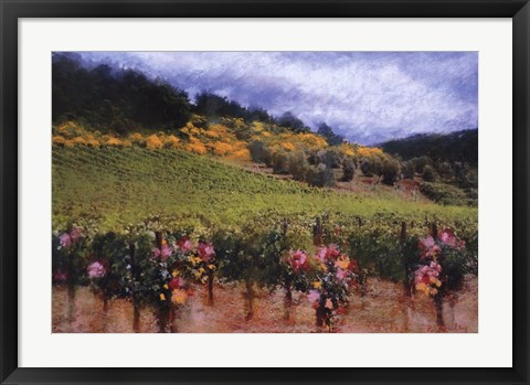 Framed Tuscan Vineyard Print