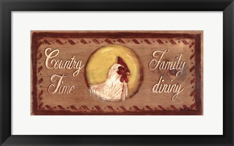 Framed Country Time Print