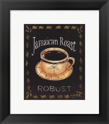 Framed Jamaican Roast Print