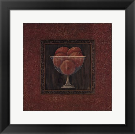 Framed Fruit Compote I Print