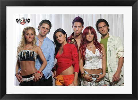 Framed Rbd-Group Print